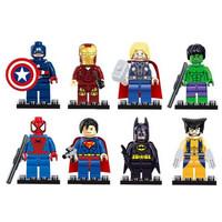 Jual Lego Box Superhero Set Model Avengers Super Hero Mainan Anak Edukasi Murah