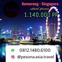 Tiket pesawat PROMO AirAsia Semarang Singapore