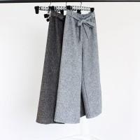 kulot celana cullotes pants panjang trousers jeans bahan fashion baju