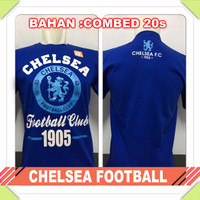 HOT SALE !!! KAOS BAJU DISTRO BOLA - CHELSEA FOOTBALL COMBED