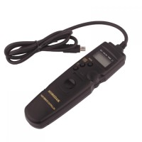 LCD Display Timer Remote Cord for Nikon D90 / D5000 / D7000 / D3000 /