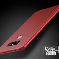 Hardcase PC Slim Coating Dove Matte Red Hard Case Cover Casing LG V20
