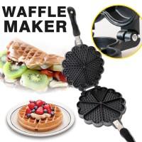 harga Waffle Maker Double Pan Teflon Pakai Kompor Bukan Listrik Oxone Sayota Tokopedia.com