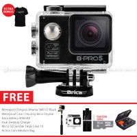 BRICA B-PRO 5 Alpha Edition Combo Extreme HD 1080p Wifi Action Camera