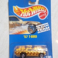 Hot Wheels '57 T-Bird Gold