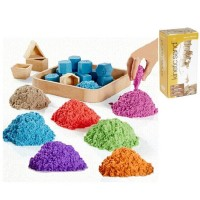 Kinetic Sand Warna refill 1kg - Mainan Pasir Ajaib
