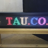 RGB Running Text Indoor 100x20cm LED Display RED GREEN BLUE