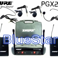 Mic wireless Shure PGX 242 ( clip on + headset )