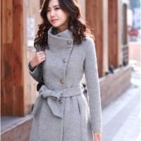 Blazer / Coat / Jacket Korea Grey Misty