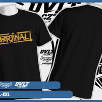 Kaos/T-shirt Rock Music Marjinal Band Logo Murah