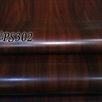 Jual WALLPAPER STICKER 45CMX5M WPS302 DARK BROWN WOOD Murah