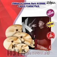 Cymbal Set Zildjian K-Custom KCD900 / Zildjian K-Series KCD900 baru