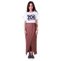 Celana / Pants Panjang Wanita katun coklat Gshop DNW 4297 murah ori