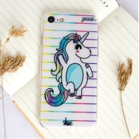 Casing Handphone Oppo F1/F1s/F1+ LOVELY UNICORN CASE