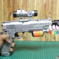 Mainan Pistol Proyeksi lampu Gambar Led