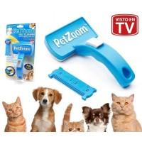 PetZoom / Pet Zoom Self Cleaning Grooming Brush Sisir - EH110