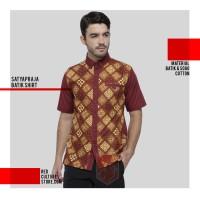 Kemeja Batik Pria Modern Bandung / Kode Satyapraja / Kemeja Kantor