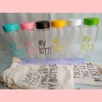Jual TUMBLR TRAVEL / KADO UNIK / TUMBLR BOTTLE / BOTOL MINUM + TAS Murah