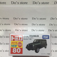 tomica jeep wrangler no80 green first