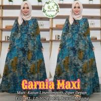 Long Dress Muslim Maxi Dress Wanita GARNIA MAXI