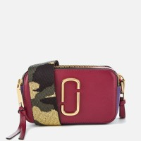 MARC JACOBS SNAPSHOT SLING BAG BERRY