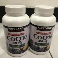 kirkland coq 10 coq10 suplemen nutrisi otak 300 mg 100 sg