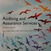 [ORIGINAL] Auditing and Assurance Services 16e - Arens