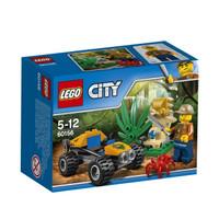 LEGO City-60156 Jungle Buggy Set Kid Toy Jeep Car ATV Police Cop Promo