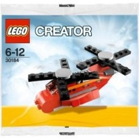 LEGO Creator - 30184 Little Helicopter Polybag Mini Heli Red Plane Toy