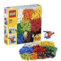 LEGO Classic-6177 Basic Bricks Deluxe Set Building Toy Kid Blocks Box