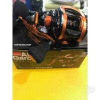 ABU GARCIA ORANGE MAX (LEFT) FREE HANDLE OMAX3-L