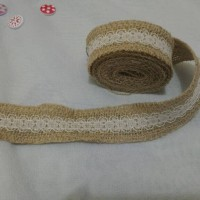 Jual renda goni renda burlap 3cm Murah