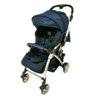 kereta stroller Cocolatte Q6 Amber Delly Belly Blue