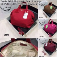tas/tas wanita/tas prada bahan nylon