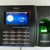 Mesin Absensi Sidik Jari/Fingerprint Solution X100-C