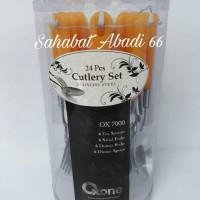 Jual Oxone OX-7000 Sendok Set 24pcs Murah