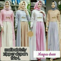 maxi gamis maxy dress longdress panjang baju muslim pesta hijab elegan