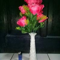Jual Bunga Plastik Hiasan Meja/Bunga Artificial/Pohon Hias Plastik Murah