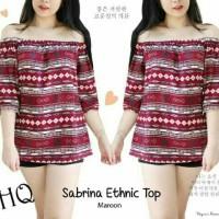 Harga sabrina baju top atasan etnik ethnic wanita | Pembandingharga.com
