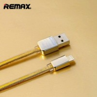 Jual Remax Gold Kabel Data Cable Lightning / iPhone 5 6 7 iPad Original Murah
