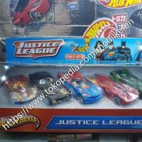 Hot Wheels DC Comics Justice League 5 Pack