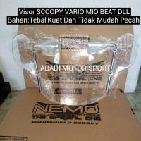 Jual Visor Scoopy Vario Mio Beat DLL / Windshield Matic New / Visor Matic Murah