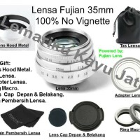 Lensa Fujian For Sony E Mount Fix 35 mm f1.6 for Sony Alpha Mirrorles