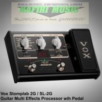 Efek gitar Vox Stomplab 2G / Vox Stomplab-2G / Vox SL-2G / Vox SL2G