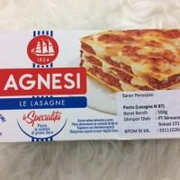 harga Agnesi Le Lasagne 500gr | Lasagna | Makanan Instan Tokopedia.com