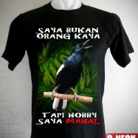 Harga kaos burung kacer hobi | antitipu.com