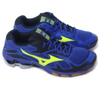 Promo Sepatu Mizuno Bolt 5 hitam kuning biru merah original 3ab4e9f590