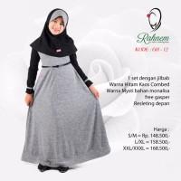 Dress / Gamis + Jilbab Anak Rahnem Gh 12