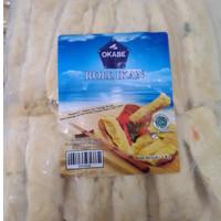 okabe roll 1kg // otakotak ikan isi 40