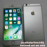 Iphone 6 128Gb Silver Second Ori Mulus ex International USA  1bda17c487